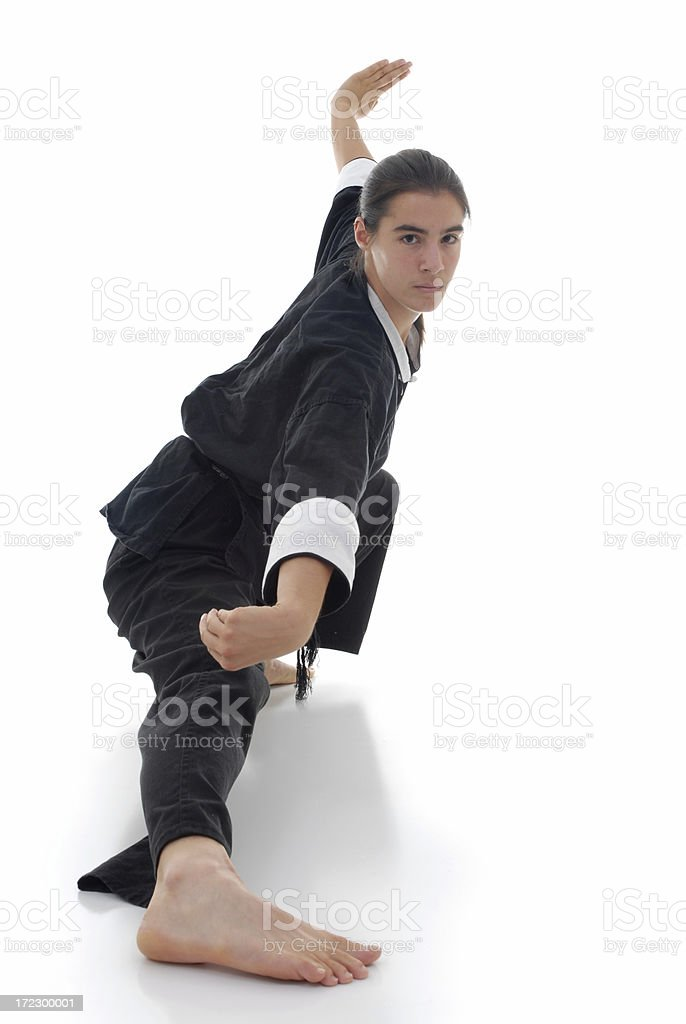 Low stance royalty-free stock photo