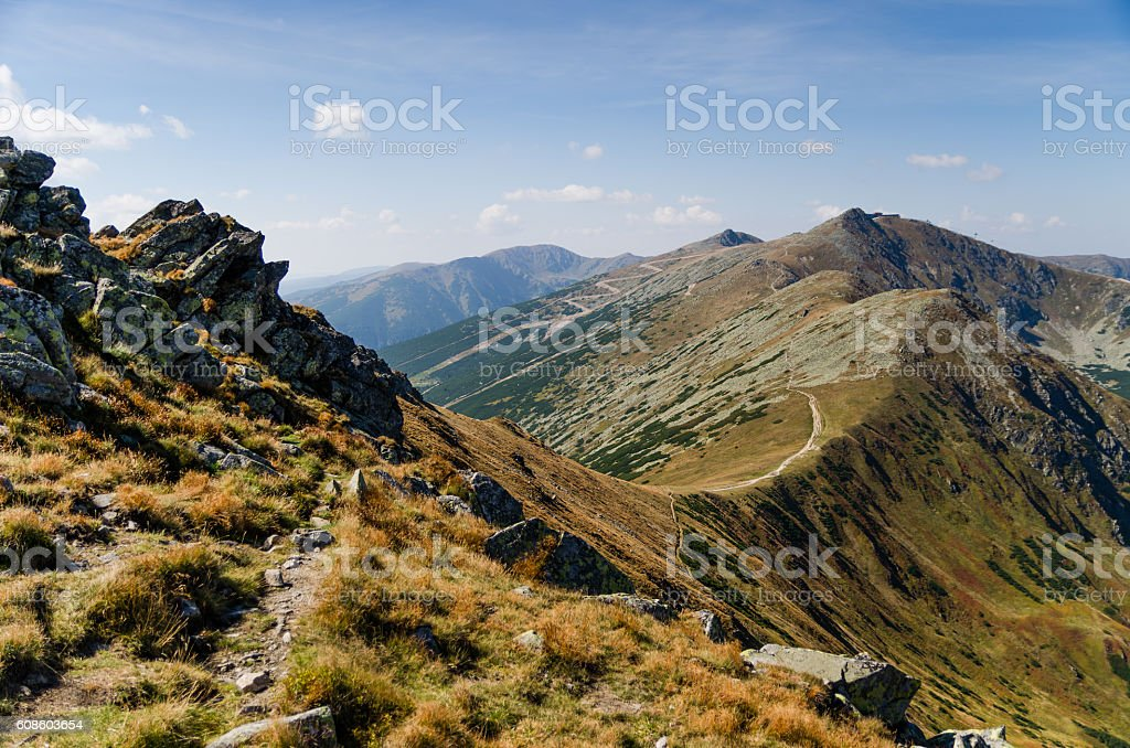 Low Tatras stock photo
