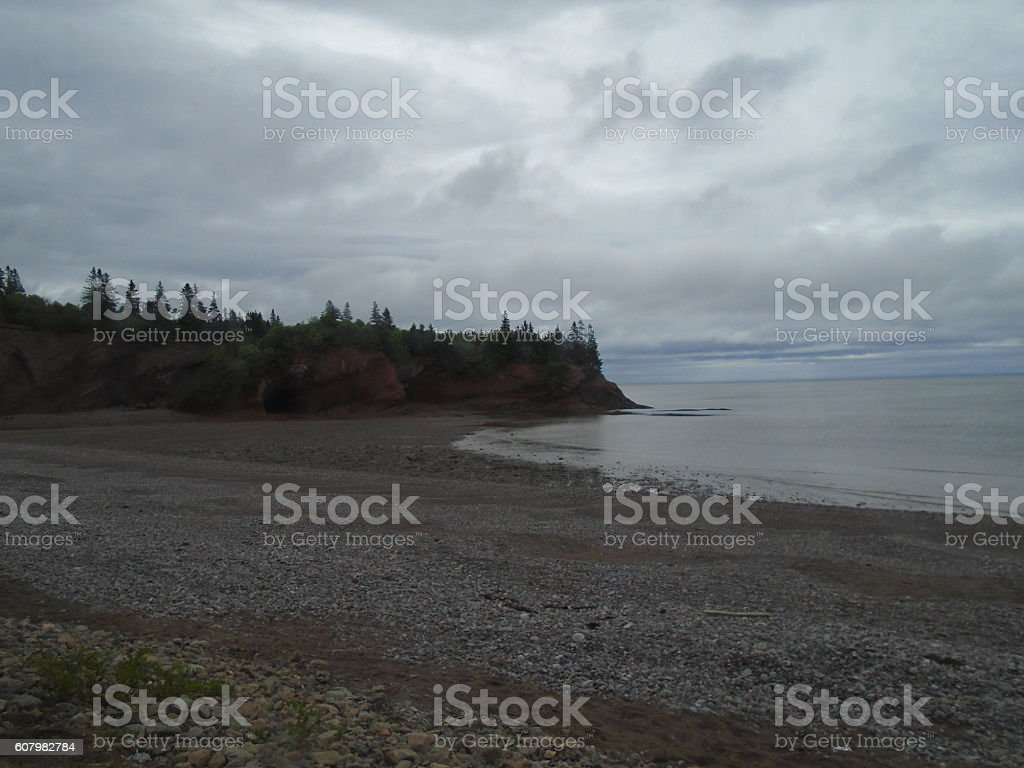 Low Tide At St Martins Sea Caves stock photo