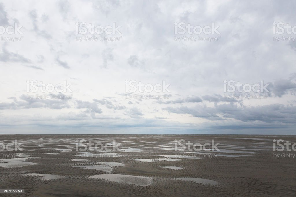 Low Tide, Little St. Simons stock photo