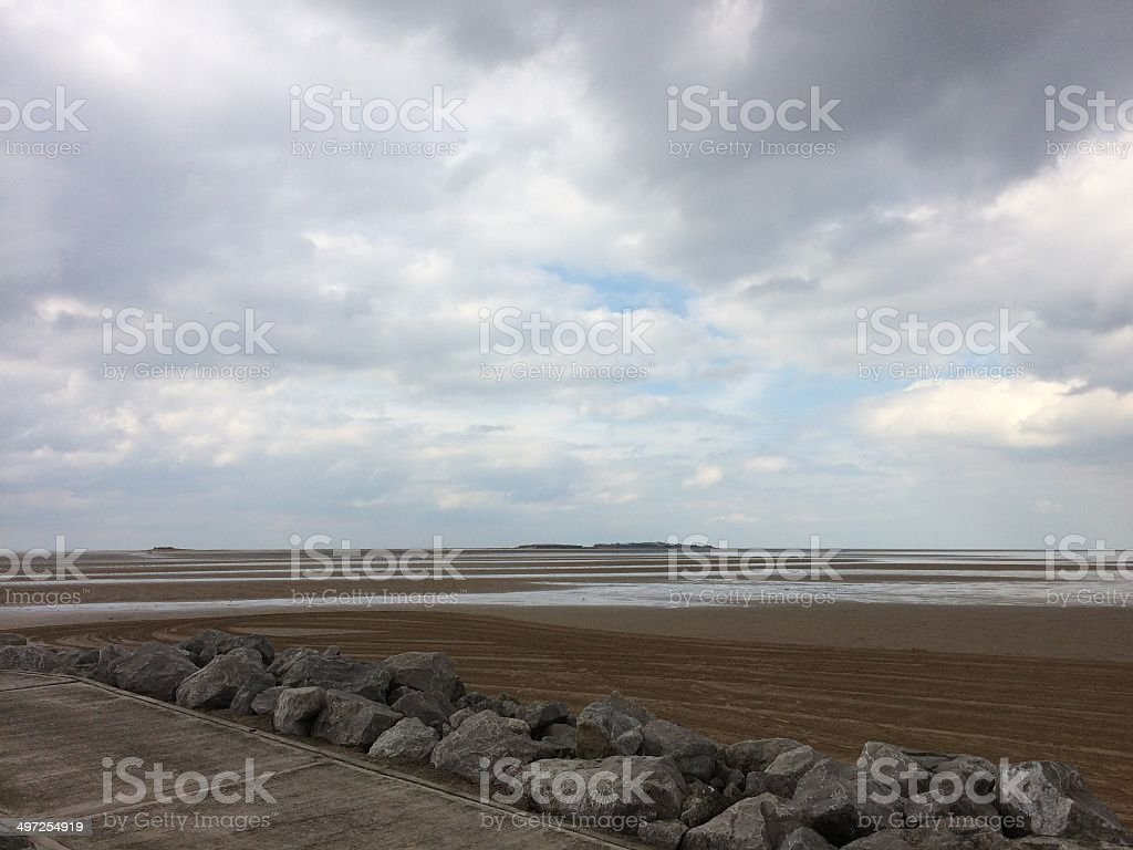 Low Tide stock photo