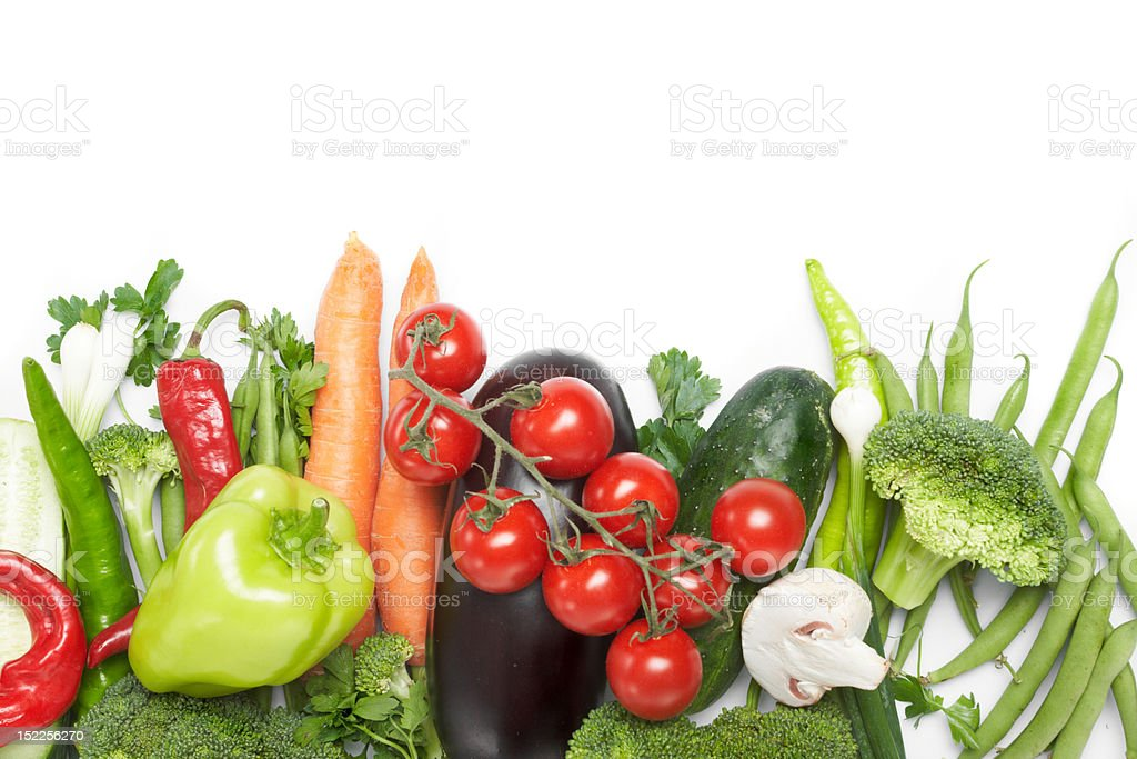 low-calorie vegetables royalty-free stock photo