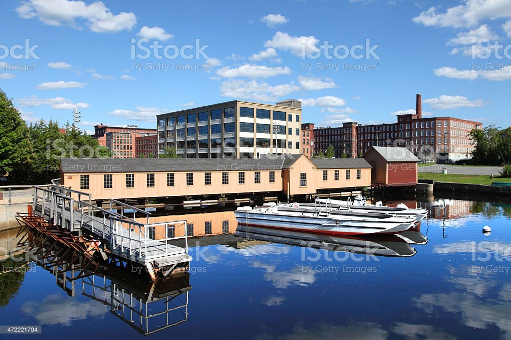 Lowell Massachusetts stock photo
