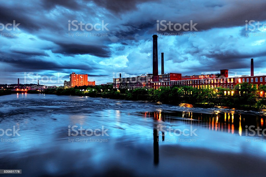 Lowell, Massachusetts stock photo
