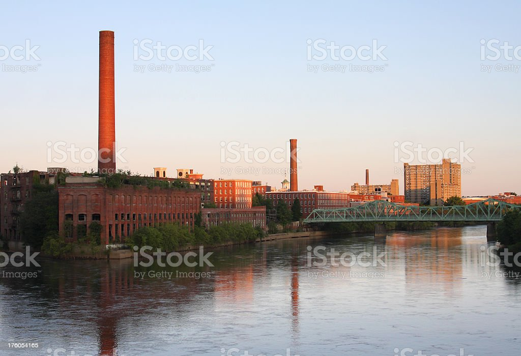 Lowell stock photo