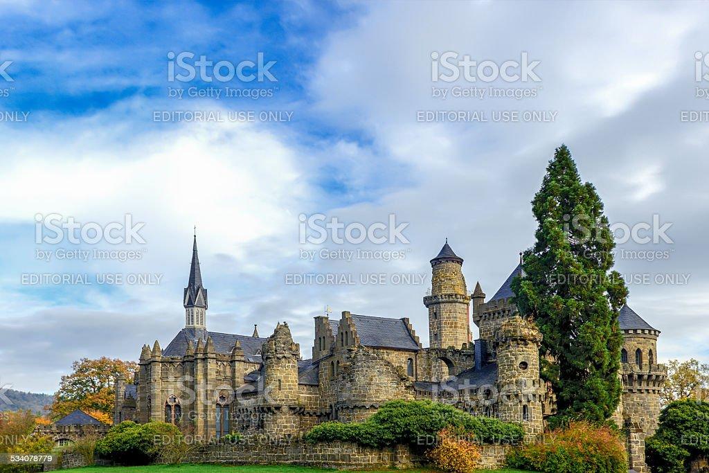 Lowenburg Castle stock photo