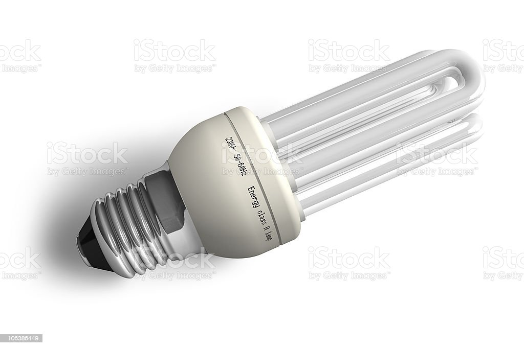 Low-energy lamp royalty-free stock photo