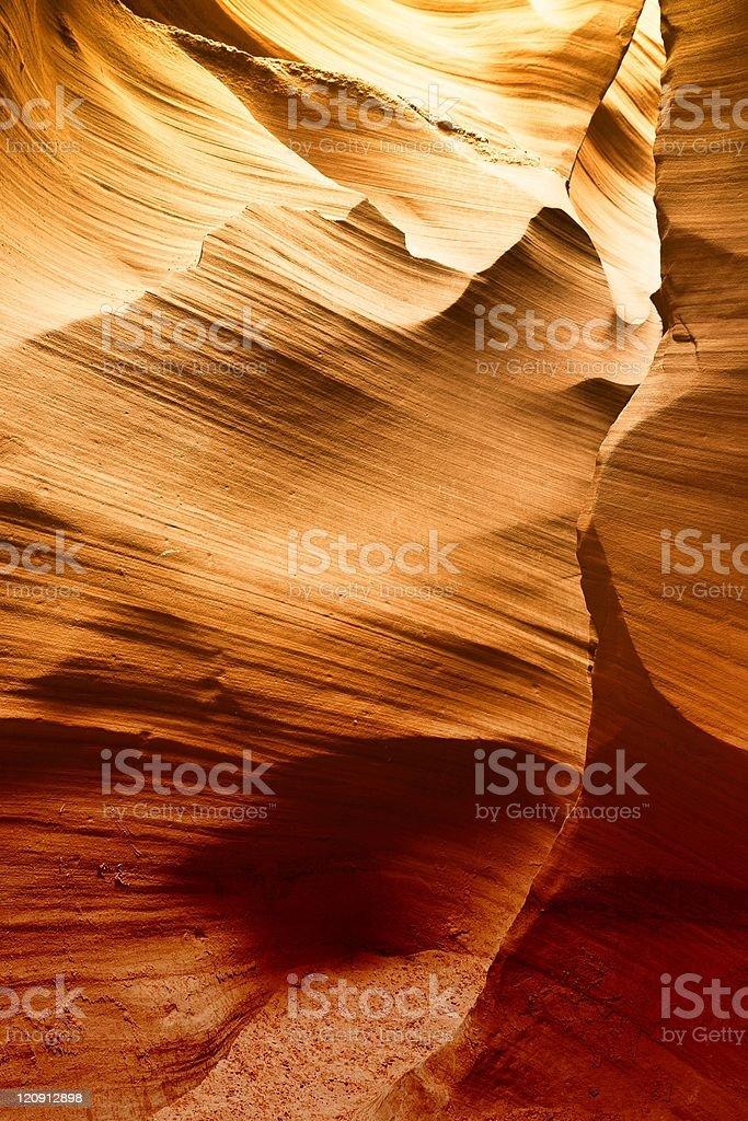 Lower Antelope Canyon, Page, Arizona royalty-free stock photo