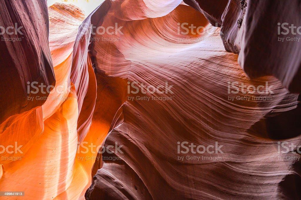 Lower Antelope Canyon - Page, Arizona royalty-free stock photo