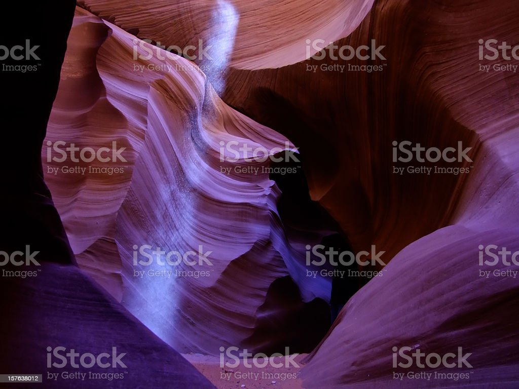 Lower Antelope Canyon royalty-free stock photo