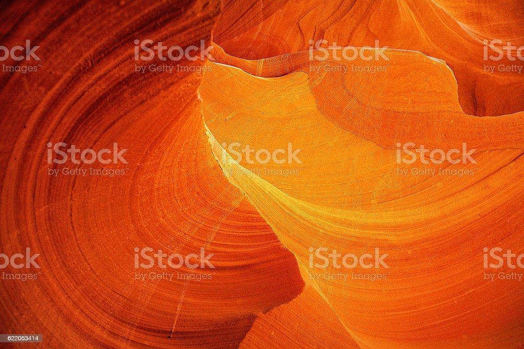 Lower Antelope Canyon stock photo