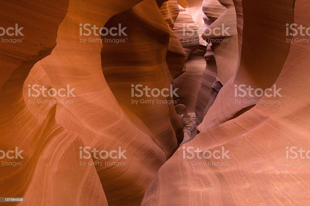 Lower Antelope Slot Canyon royalty-free stock photo