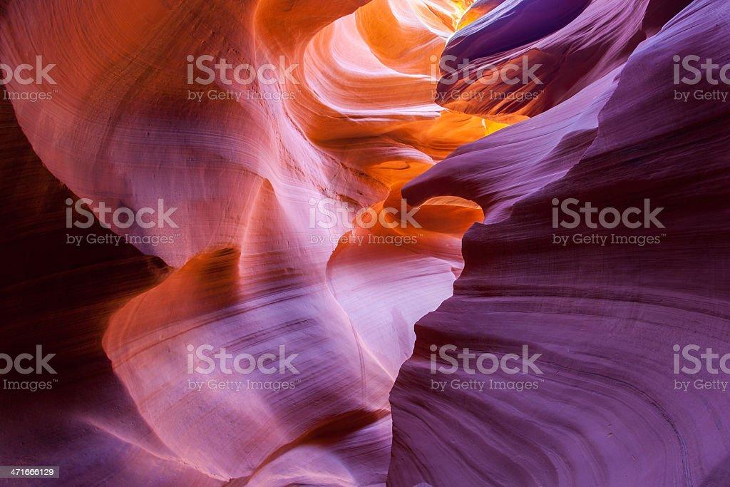 Lower Antilope Canyon, Arizona stock photo
