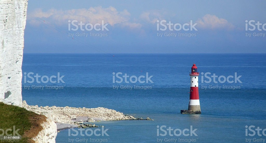Lower Beachy Head stock photo