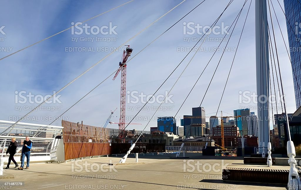 Lower Downtown, Denver royalty-free stock photo