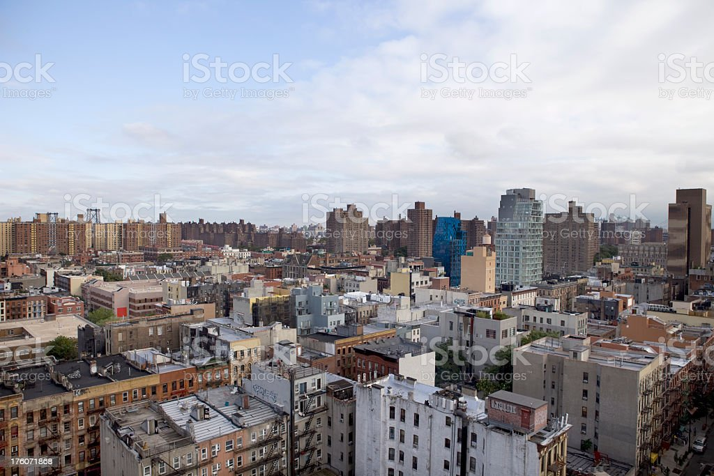 Lower East Side Manhattan royalty-free stock photo