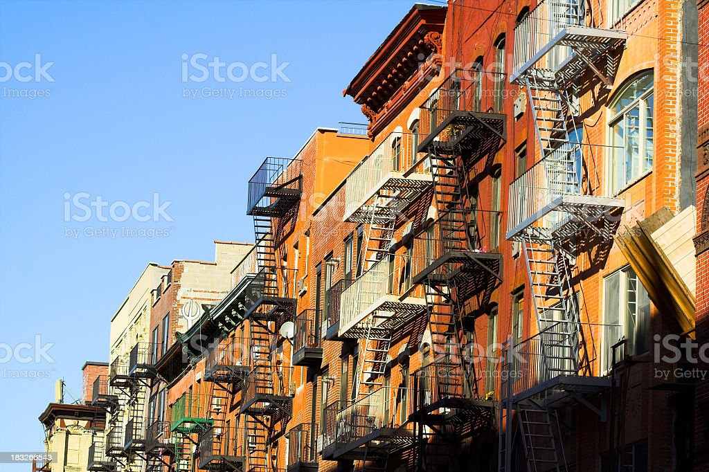 Lower East Side Manhattan stock photo