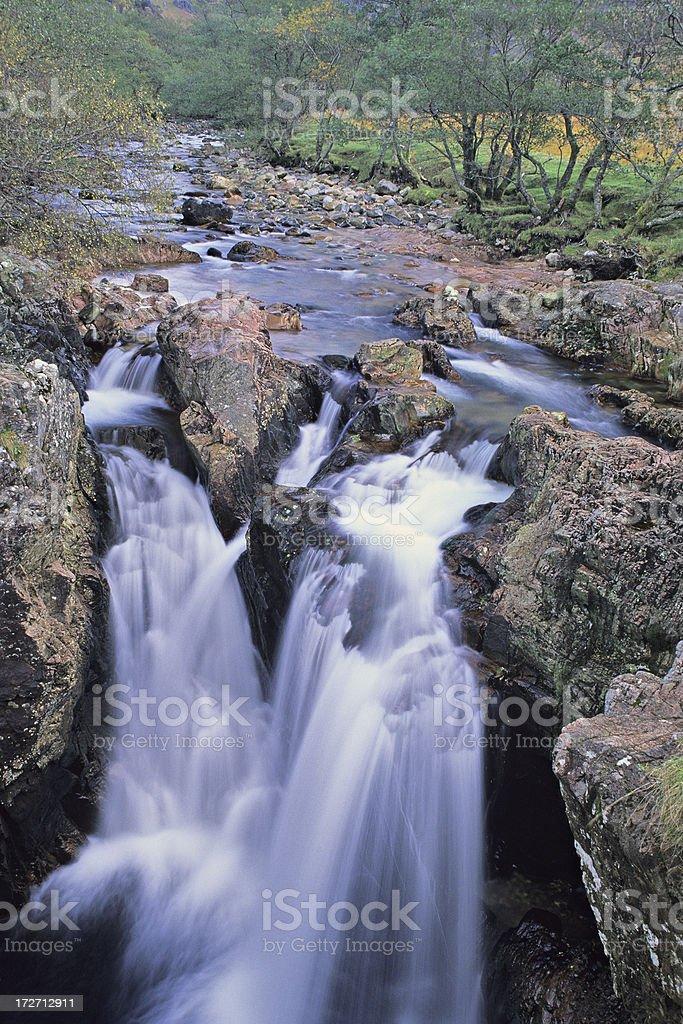 Lower Falls - Glen Nevis royalty-free stock photo