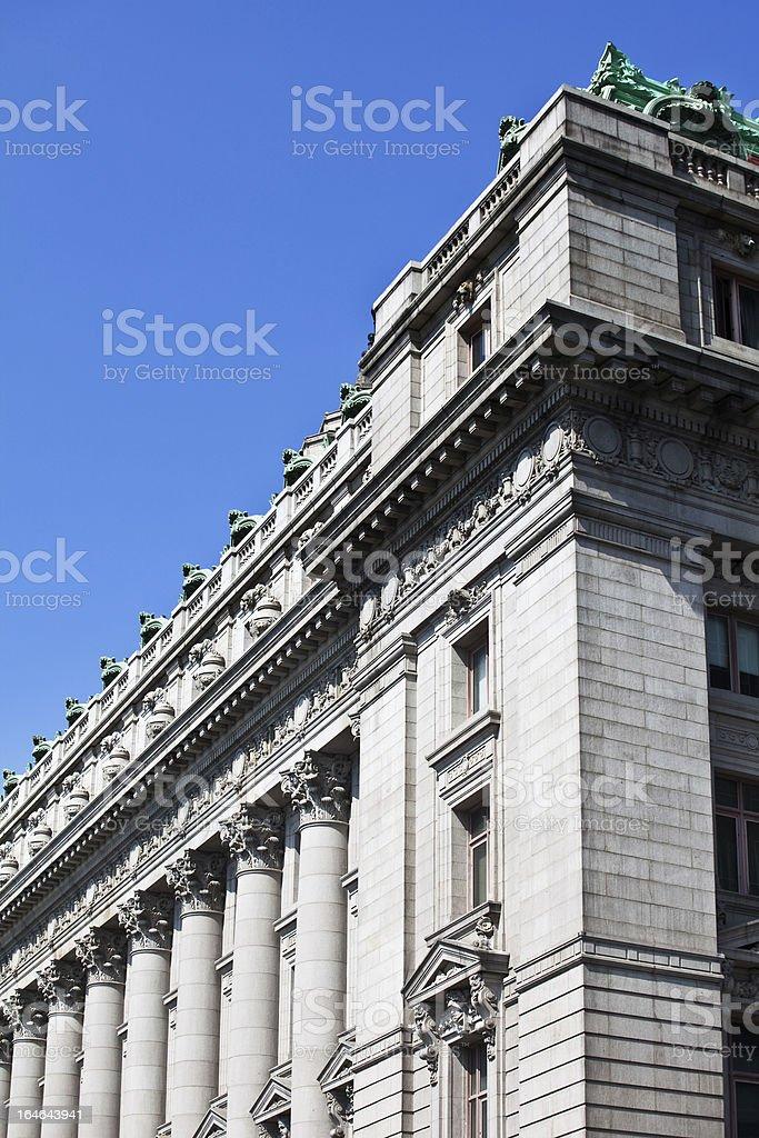 Lower Manhattan, New York City royalty-free stock photo