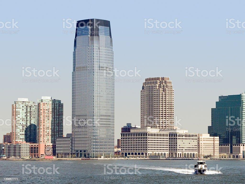 Lower Manhattan royalty-free stock photo