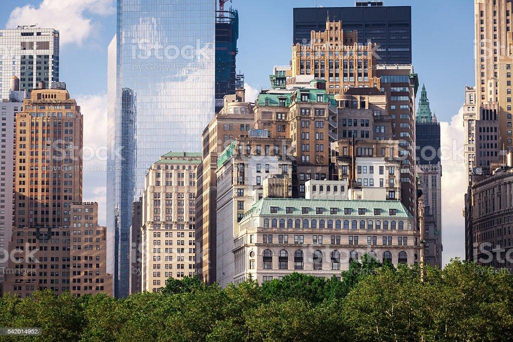 Lower Manhattan stock photo