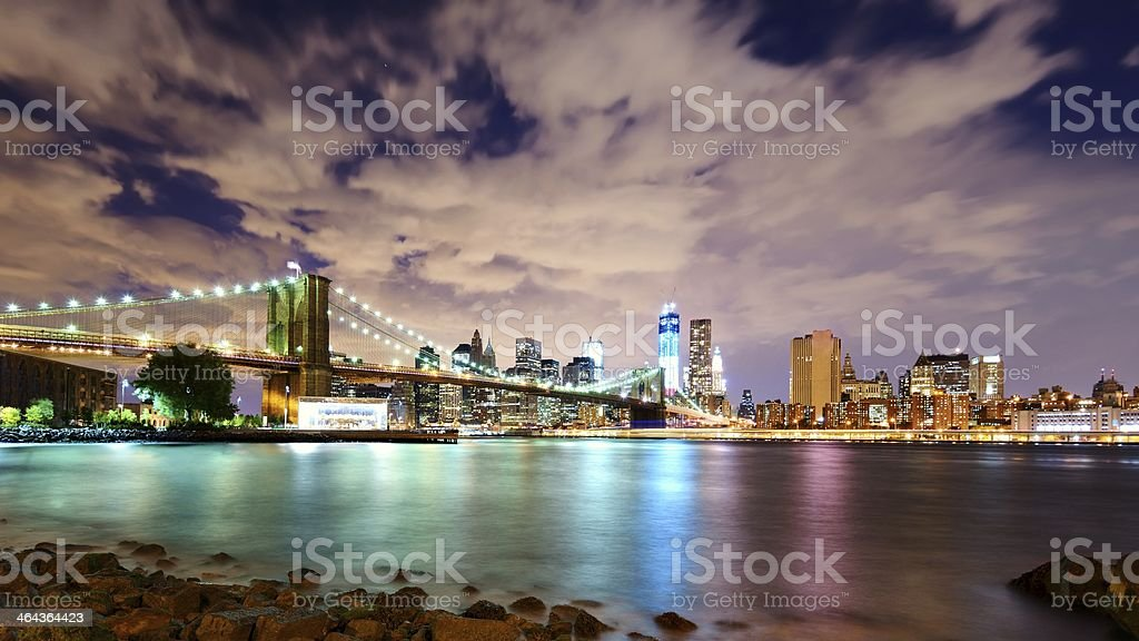 Lower Manhattan Skyline royalty-free stock photo