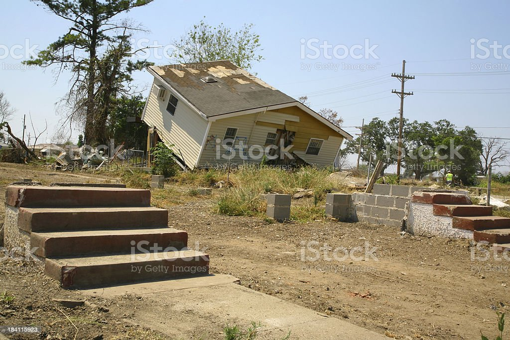 Lower Ninth Ward stock photo