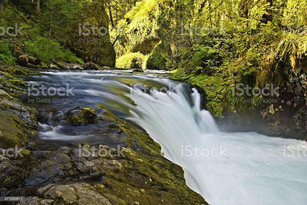 Lower Punch Bowl Falls stock photo