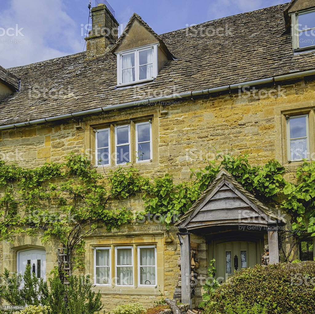 lower slaughter royalty-free stock photo