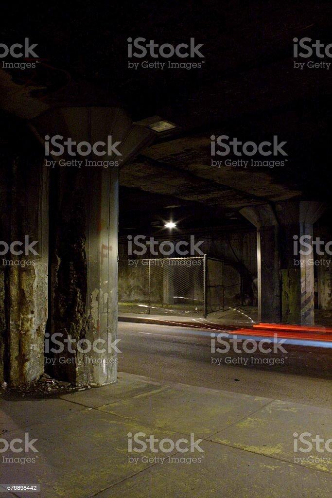 Lower Wacker stock photo