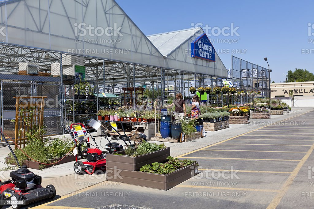 Lowes Garden Center royalty-free stock photo
