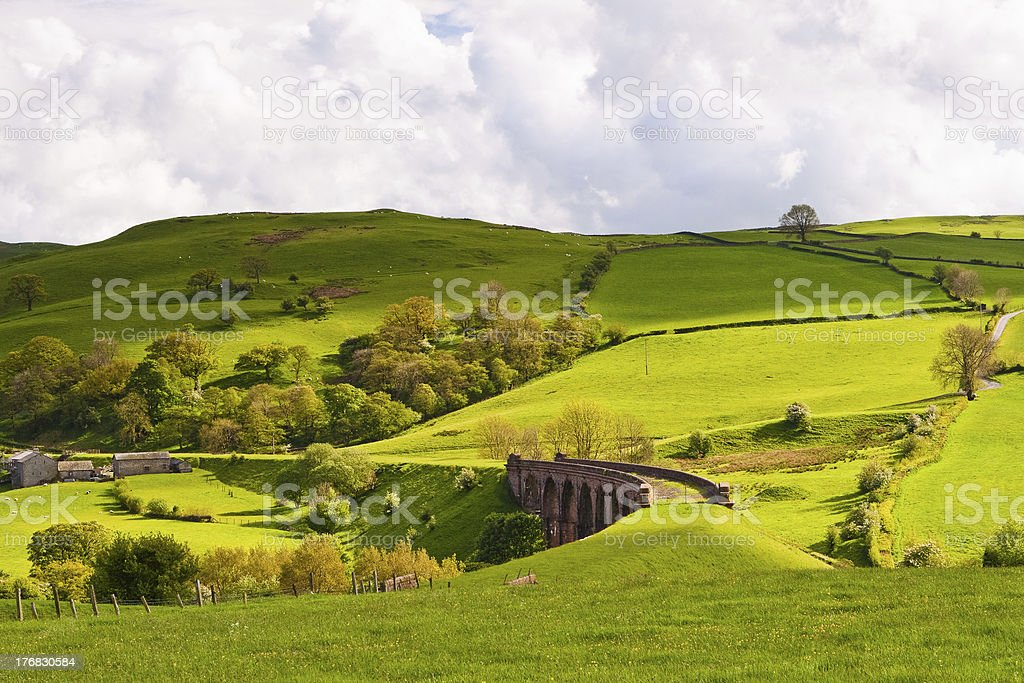 Lowgill viaduct royalty-free stock photo