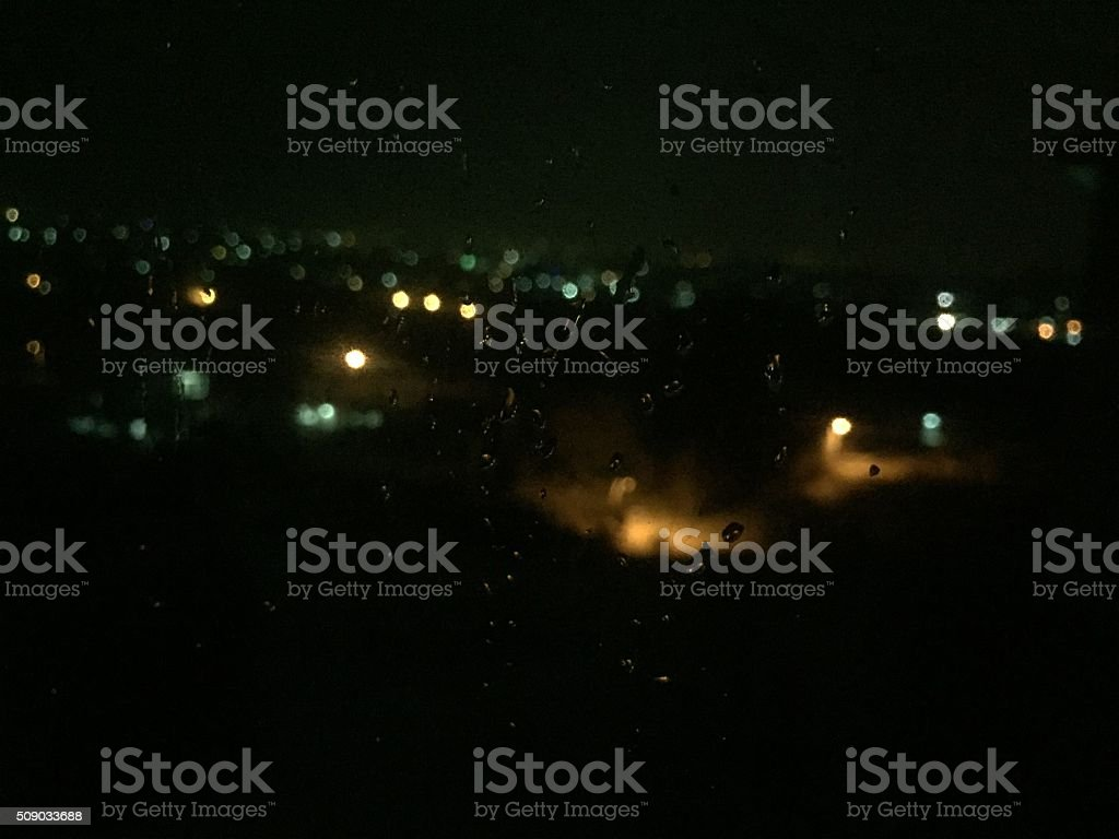 lowlight monsoon stock photo