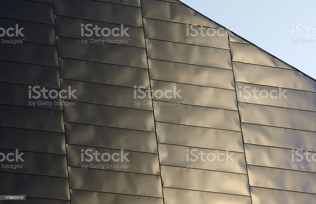 Lowry Centre Roof - abstract art architecture stock photo