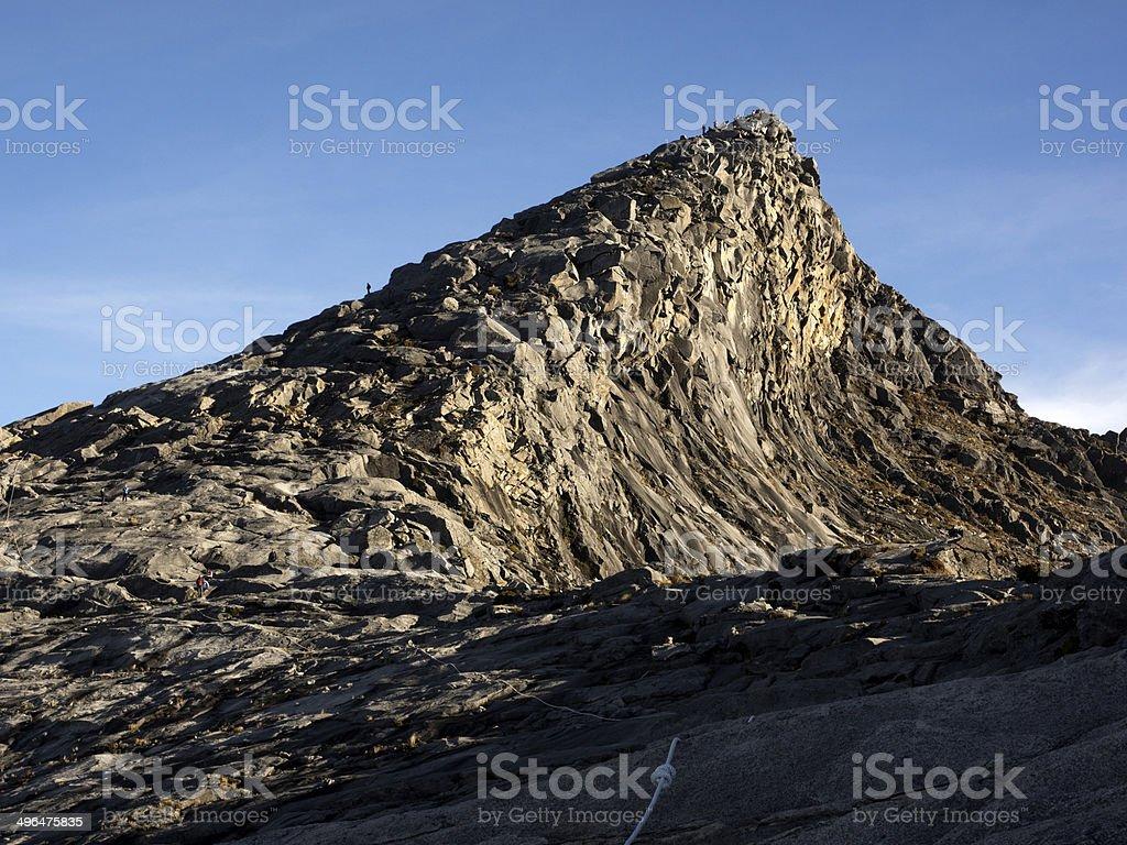Low's Peak, Highest Point on Mount Kinabalu in Sabah, Malaysia stock photo