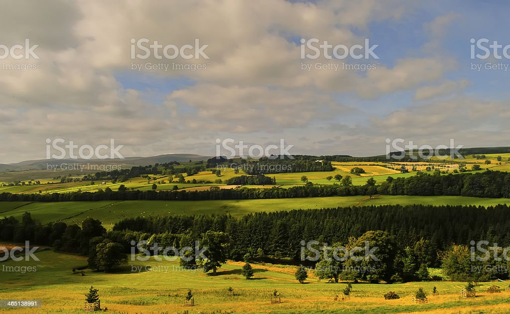 Lowther Fells stock photo