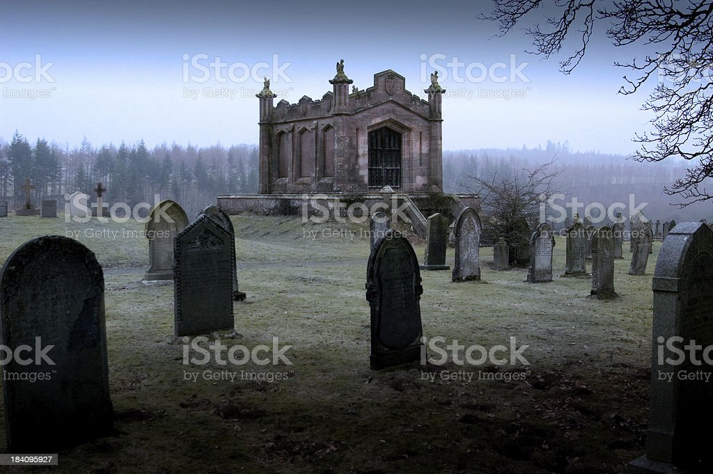 Lowther Mausoleum royalty-free stock photo