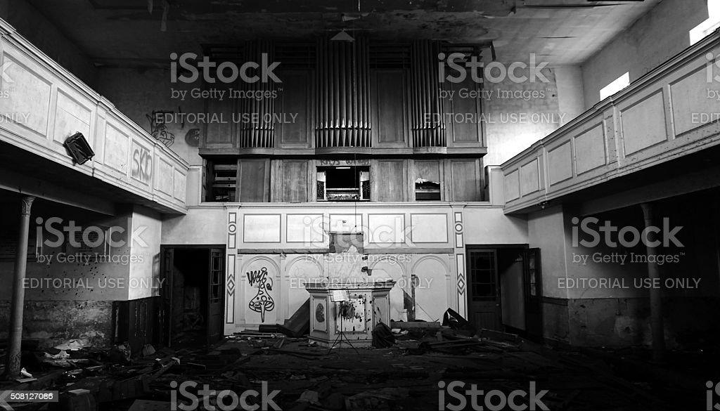 Loxley Chapel Sheffield stock photo