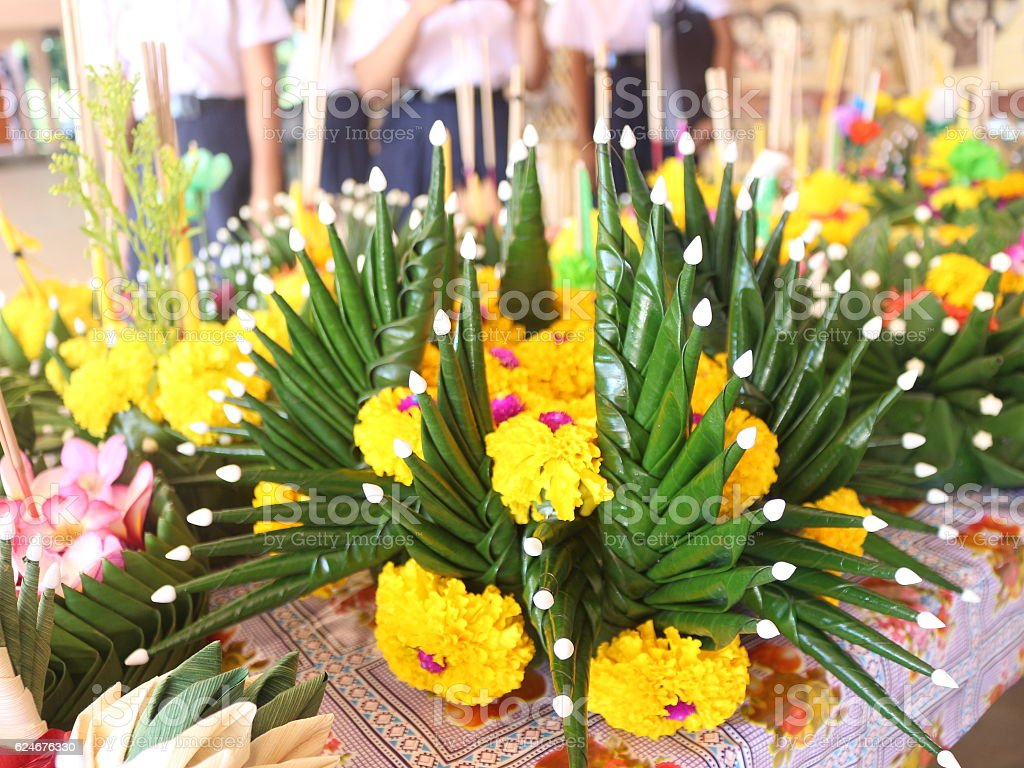 Loy Kratong Festival1 stock photo