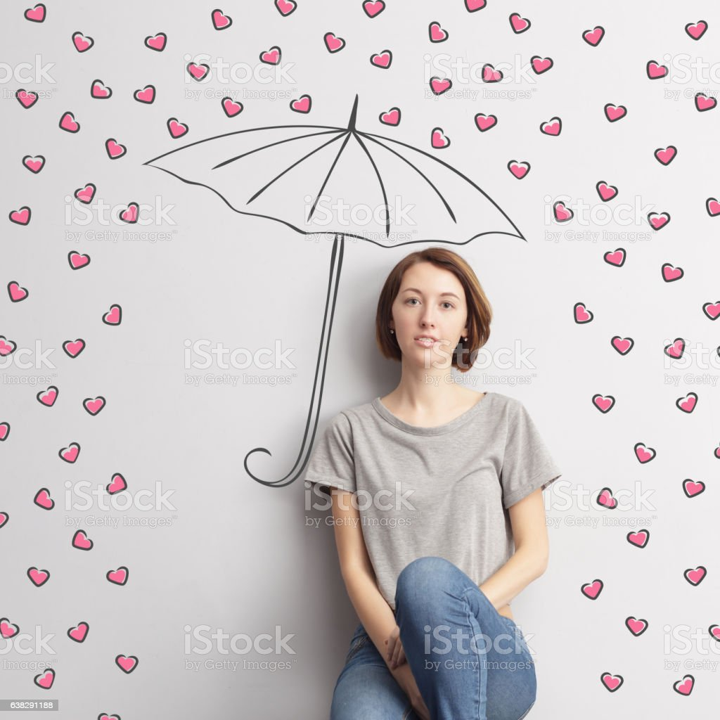 Loyalty and dedication to loved ones. stock photo