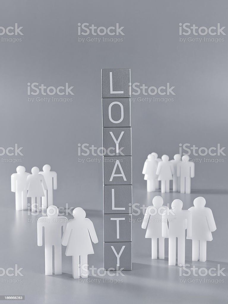Loyalty royalty-free stock photo