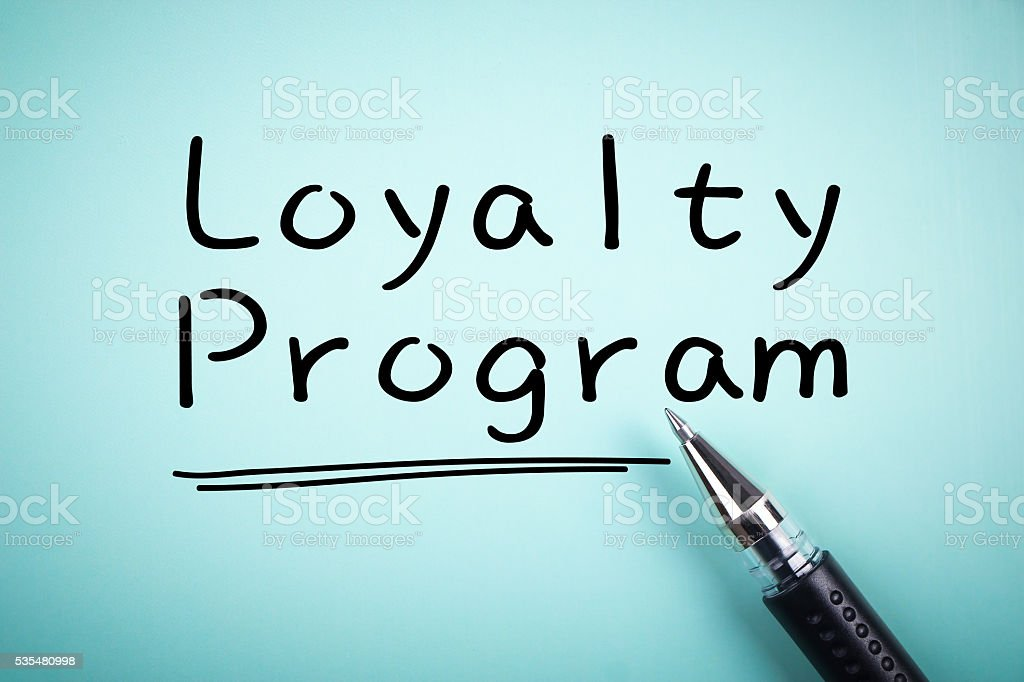 Loyalty Program stock photo
