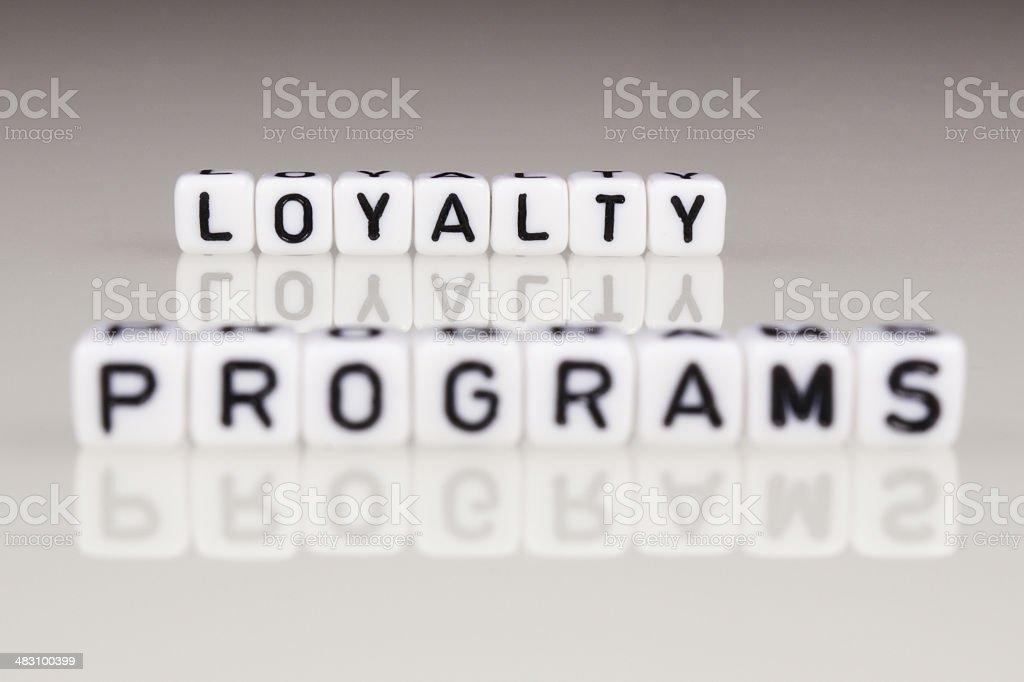 Loyalty Programs royalty-free stock photo