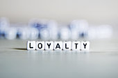 Loyalty word concept