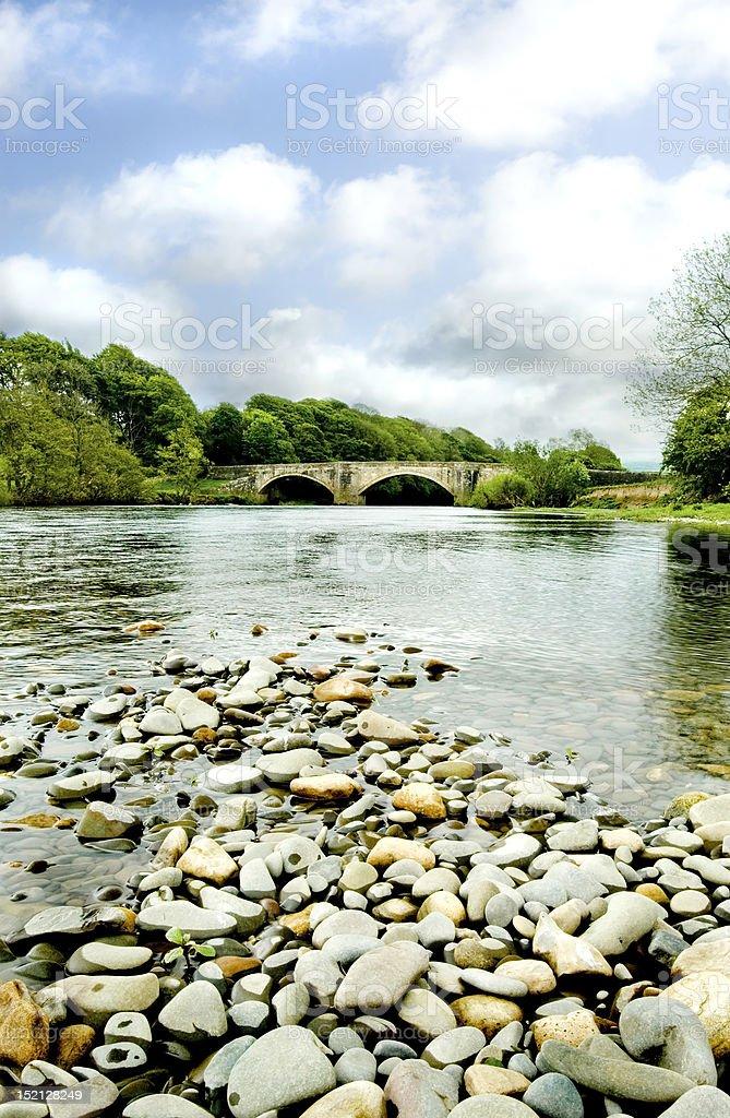 Loyne Bridge, Lancashire stock photo