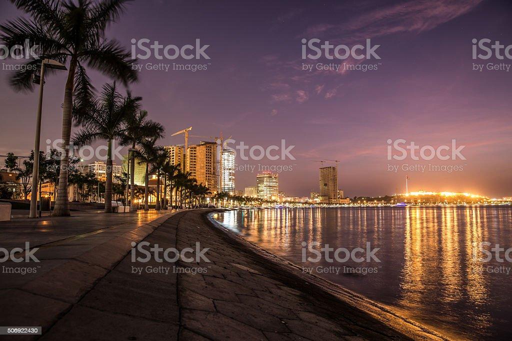 Luanda Bay stock photo