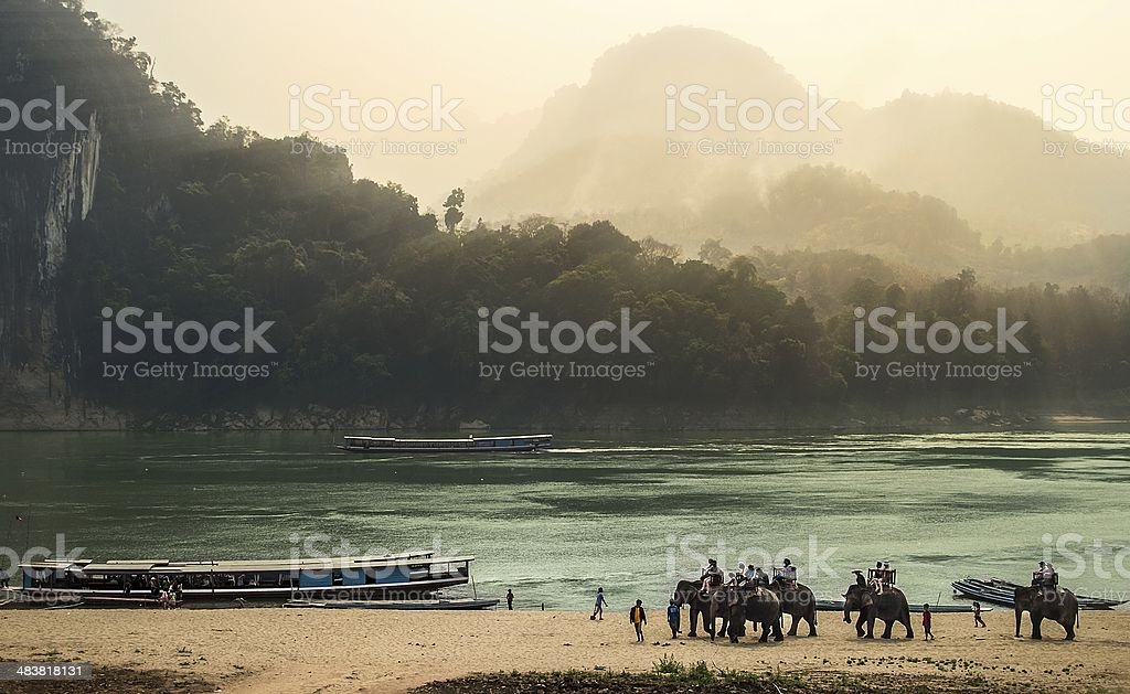Luang Prabang stock photo