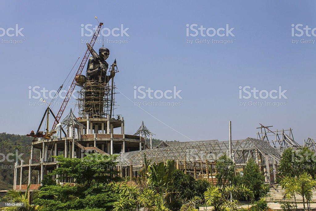 Luang Pu Thuat royalty-free stock photo