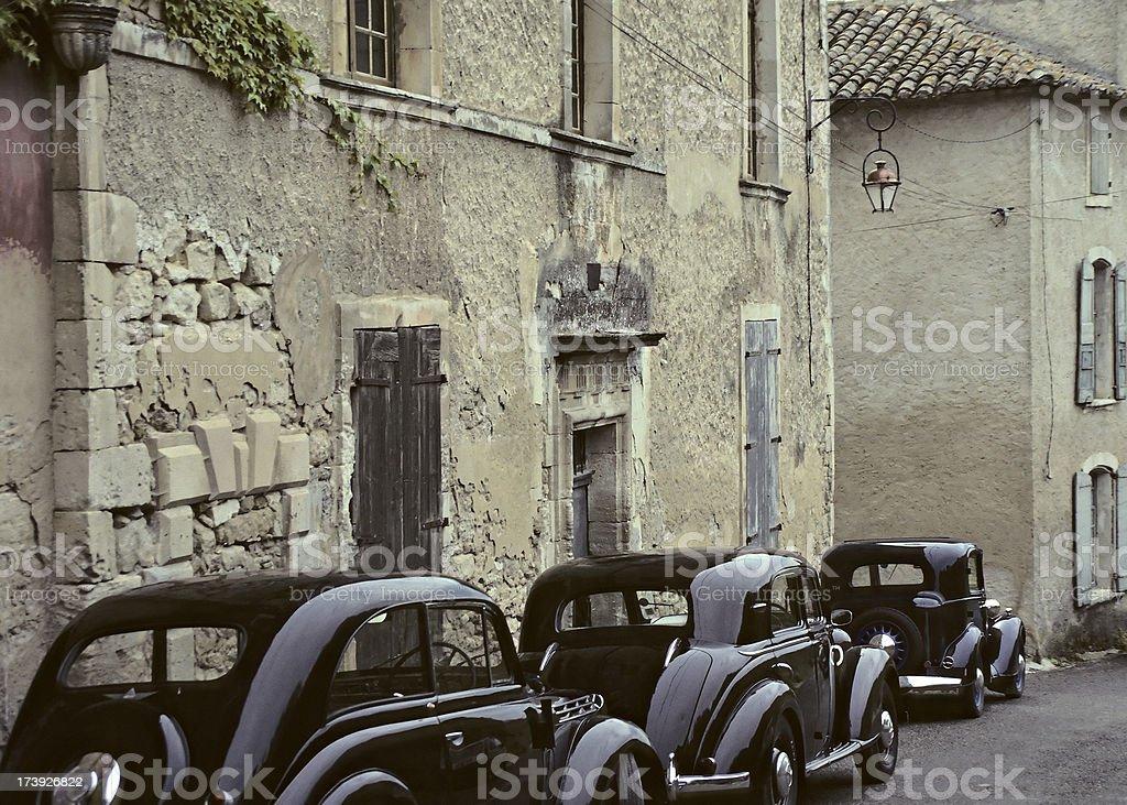 Luberon Village stock photo