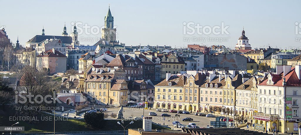 Lublin - Old Town stock photo